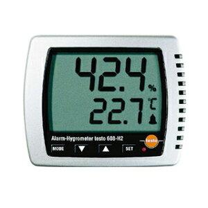 【まとめ買い10個セット品】卓上式温湿度計(アラーム付)Testo608-H2【 温度計 】 【ECJ】