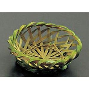【まとめ買い10個セット品】 竹 菊型珍味籠 18-035 【ECJ】