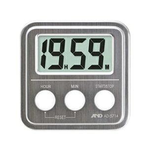 A&D 20時間タイマー(ステンレストップ)AD5714 【ECJ】