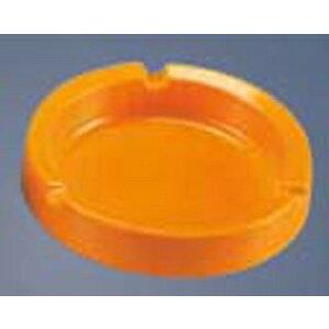 【まとめ買い10個セット品】メラミン レスト付 灰皿 オレンジ99019/1050 φ110【 卓上小物 】 【ECJ】