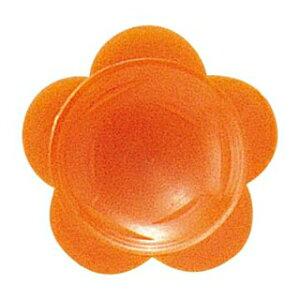 【まとめ買い10個セット品】わさび皿(500枚入)花 オレンジ【 厨房消耗品 】 【ECJ】