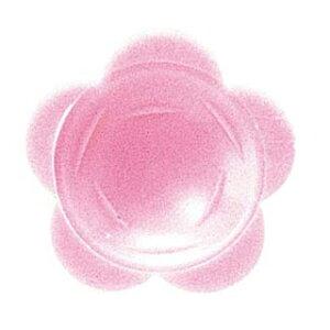 わさび皿(500枚入)花 ピンク【 厨房消耗品 】 【ECJ】