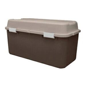 収納箱 ホームボックス 880 ブラウン 【ECJ】【 店舗備品・防災用品 】