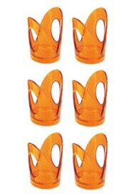 グッチーニ ペーパーカップホルダー6Pセット 230200 45オレンジ 【ECJ】【 オーブンウェア 】