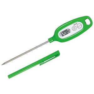 タニタ デジタル 温度計 TT-508NGR グリーン 【ECJ】