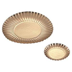 【 アシェット・ゴールド 直径24cm [25枚入] 】【 厨房器具 製菓道具 おしゃれ 飲食店 】 【ECJ】
