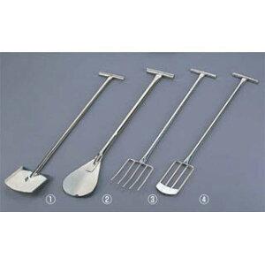 【 オールステンレスフォーク [3] A型 [5本爪] 】【 厨房器具 製菓道具 おしゃれ 飲食店 】 【ECJ】