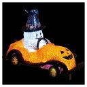LEDモチーフ パンプキンカー1台【ハロウィン ディスプレイ 飾り 装飾 イルミネーション ライト デコレーション イベント ハロウイン ハロウィーン hall...