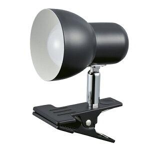 LEDクリップライト 黒 昼光色 1個 【ECJ】