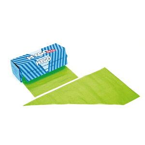 HYGO MAX 使い捨てロールタイプ絞り袋(72枚1ロール) グリーン 【ECJ】