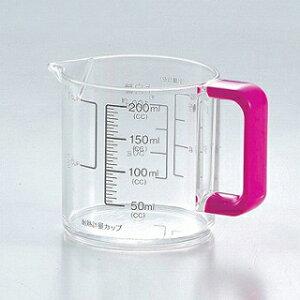 パール金属 Colors 耐熱計量カップ200ml ピンク【 メジャーカップ おすすめ 料理 計量カップ 人気 計量カップ おしゃれ 計量カップ 水 計量容器 軽量カップ はかり 計量カップ 料理カップ 分量