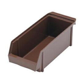 【まとめ買い10個セット品】SAオーガナイザーボックス (抗菌) ブラウン
