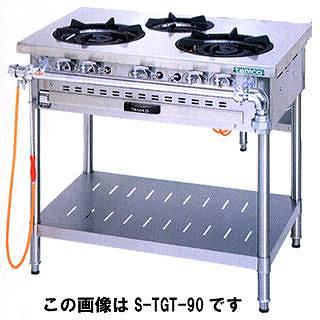 【業務用】タニコー ガステーブル[スタンダードシリーズ] J-TGT-120-3 【 メーカー直送/代引不可 】 【 送料無料 】