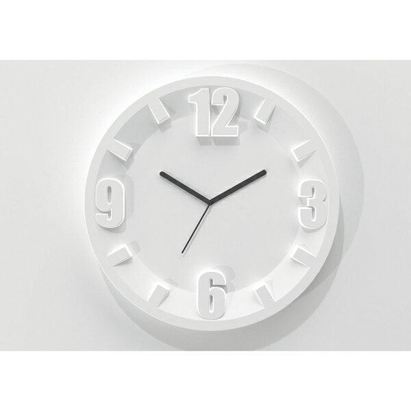 グッチーニ ウォールクロック 2229.0011 ホワイト 【ECJ】