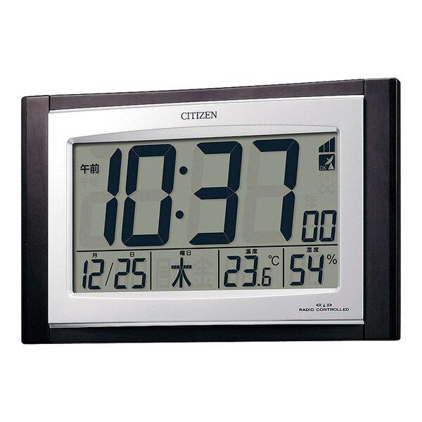 シチズン 掛置兼用電波時計 8RZ096-023 【ECJ】