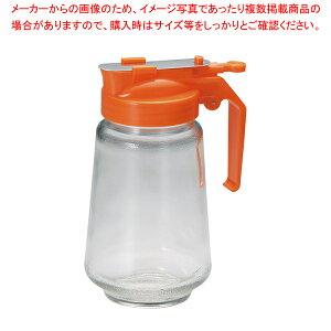 ガラス製 焼肉タレ入 350cc オレンジ【 調味料入れ 容器 ドレッシングボトル 】 【ECJ】