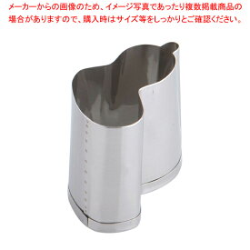 SA 18-8業務用 抜型 ひねり瓢箪 中【ECJ】【厨房用品 調理器具 料理道具 小物 】