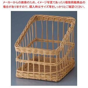 樹脂フランスパンスタンド 角型 茶 大 91-107B 【ECJ】
