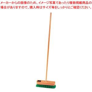 木柄ナイロンデッキブラシ 30cm 【ECJ】