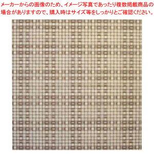 不織布シート 匠 篭目柄(20枚入) 650 茶【ECJ】【食器 弁当箱 】
