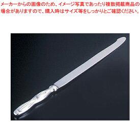 ウェディングケーキナイフ すずらん(銀) (桐箱入)【ECJ】【ウエディング用品 ウエディングケーキナイフ】