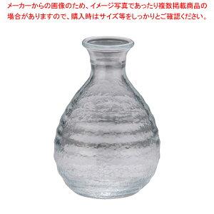 ガラス製 徳利 No.7151 (6ヶ入) 180cc【 徳利 】 【ECJ】