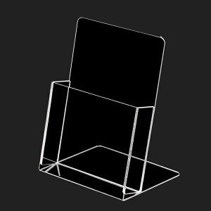 PET注文カードホルダー /スタンド斜 【ECJ】