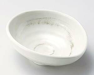 【まとめ買い10個セット品】和食器 ト044-127 粉引たまご型5.0鉢【キャンセル/返品不可】【ECJ】