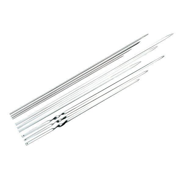 【即納】18-8 魚串 φ3.0×540 (20本入) 730540【ステンレス 串焼き用 くし焼き 串焼 業務用 大量注文】【ECJ】