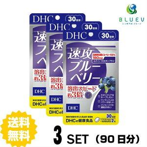【送料無料】 DHC 速攻ブルーベリー 30日分 (60粒) ×3セット