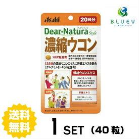 【送料無料】ディアナチュラスタイル 濃縮ウコン20日分(40粒)×1セット