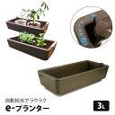 自動給水 e-プランター 水耕栽培 家庭菜園 用 水やりがラクラク 【あす楽】