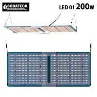 水耕栽培植物育成灯ソダテック超薄型LED01-200WSodateckゼロワン