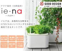 アクア栽培キットie・na(イエナ)果菜から葉菜までOK!