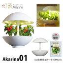 LED 水耕栽培 おしゃれ 家庭菜園 キット 水耕栽培キット アカリーナ Akarina01 OMA01 観葉植物 インテリア