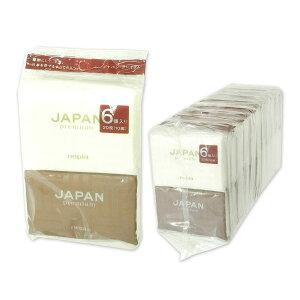 ネピア JAPAN premium ポケットティッシュ 10組 6個 × 20パック 計120個 【王子ネピア nepia】【64004 内パック×2】