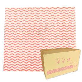 カウンタークロス イイナ 不織布 ピンク レギュラーサイズ 600枚(100枚×6箱)【東京クイン】