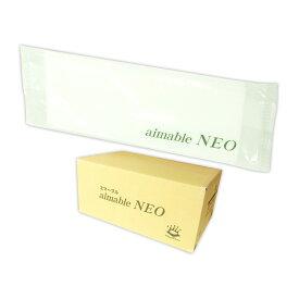 エマーブル ネオ 紙おしぼり 平型 1200枚(100枚×12袋)【東京クイン 杉山】