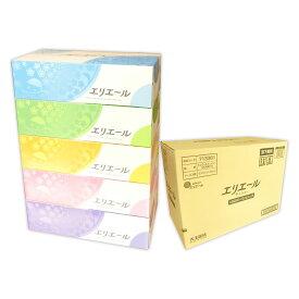 エリエール ティシュー 180組 60箱(5箱×12パック)【大王製紙】【713616 kzh】