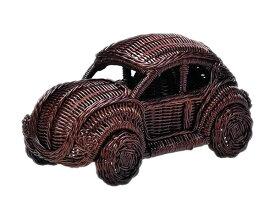 【送料無料】オブジェ クラッシックカー w32×d18×h18 「HW-31」【車 インテリア クルマ 置物 ラタン 置物 クラシックカー】