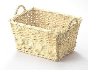 【3,980円以上購入で送料無料】【2個セット】【ギフト包装用かご】籐のある生活 Willow(柳)-お菓子ラッピング用品-バスケット「42-30」【バスケット容器・カゴ籠・basket】【収納ボックス】