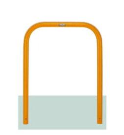 駐車場ポールLIXIL スペースガード(スチール) U48型  固定式  LNU53 色:黄色【送料無料】 KSK