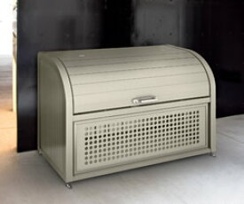 四国化成 ゴミステーション 大型ゴミ箱 シコク ゴミストッカー PSR型基本セット GPSR-1812-08SC [自治会/町内会/設置/屋外/カラス/対策/猫/大容量/ごみ/ゴミ箱]