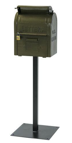セトクラフト セトクラフト スタンドポスト U.S.MAIL BOX(グリーン) SI-2855-GR ZZ