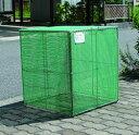 カンエツ ゴミステーション 大型ゴミ箱 折り畳み式ごみ収集ボックス K-60[自治体/町内会/アパート/マンション/収集所…