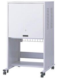 ナカバヤシ フラップ式扉 セキュリティパソコンラック(17インチモニタ+タワー型PCタイプ) PSS-201 ※お客様組立品