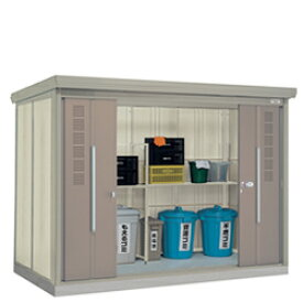 ゴミステーション 大型ゴミ箱 タクボ物置 クリーンキーパー CK-S2915 30世帯用 多雪型・標準型 [アパート/マンション/設置/屋外/カラス/対策/猫/大容量/ごみ/ゴミ箱/ゴミストッカー]