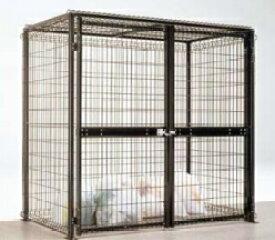 ゴミステーション LIXIL リクシル ゴミ収納庫 ダストック2型 20-10型 ダークブラウン 【送料無料】 ※個人宅配送不可