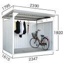 ダイマツ多目的万能物置 DM-10壁面パネルロング型 [収納/屋外収納/ガレージ/屋外/雨よけ/倉庫/価格/小屋/庭/スペース/自転車/設置/物置き]
