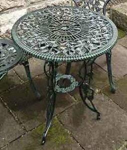 【エリア限定送料無料】ジャービス アルミ鋳物テーブル (中) 1台 13044 ガーデン用